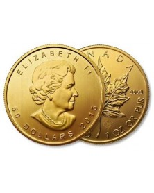 1 oz Maple Leaf 31,10 Gramm Gold