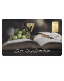 """1 Gramm Geschenkkarte """"Zur heiligen Kommunion"""""""
