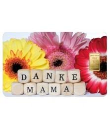 """1 Gramm Geschenkkarte """"Alles liebe zum Muttertag"""""""