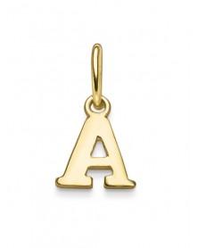 Buchstaben-Anhänger A 585 aus Gelbgold
