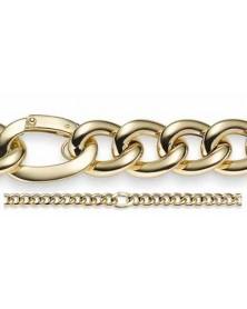 Phantasie-Armband 15,5 mm aus 585 Gelbgold