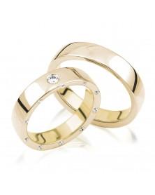 Ringe aus Gelbgold S201