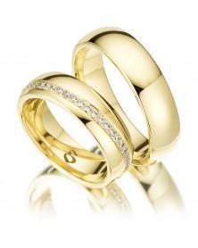Ringe aus Gelbgold S228