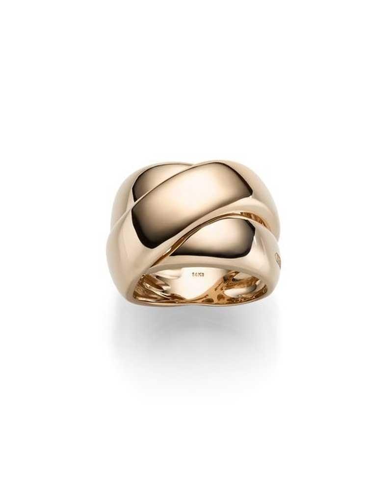 Ring 1,9 cm aus 585 Roségold