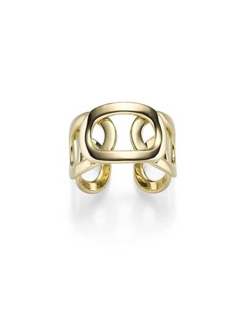 Ring 14,0 mm aus 585 Gelbgold