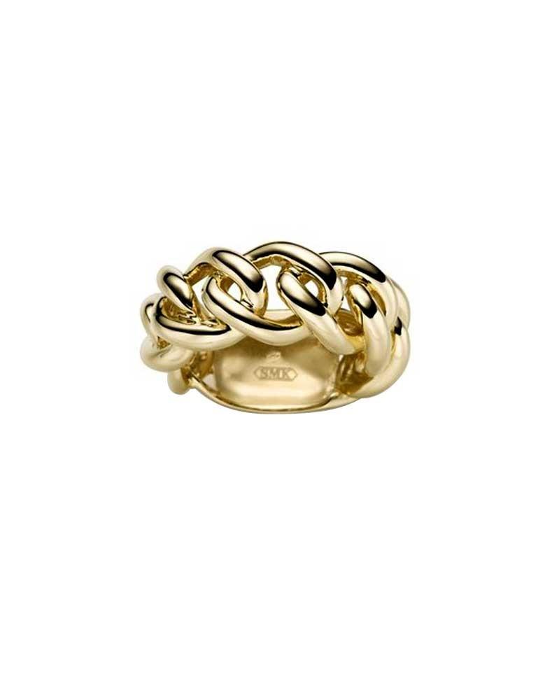 Ring 1,1 cm aus 585 Gelbgold