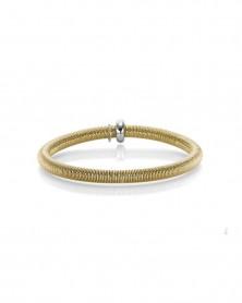Armband elastisch 5,0 mm aus 585 Gelbgold