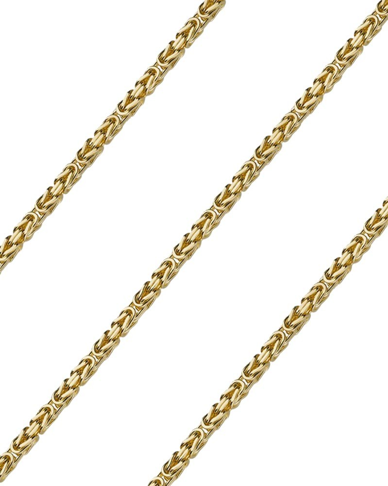 Königskette 3,5 mm 585 Gelbgold