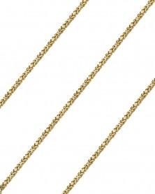 Königskette 2,5 mm 585 Gelbgold