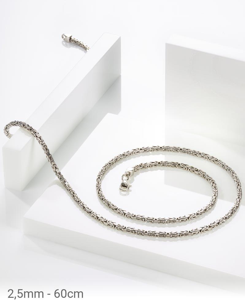 Königskette Silber 925 2,5 mm