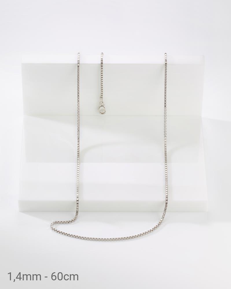 925er Silber Veneziakette 1,4mm 60cm