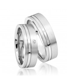 925er Trauringe aus Silber