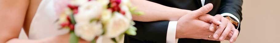 Die Hochzeit: Hochzeitsringe aus Gold von echtschmuck.shop