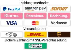 Zahlungs- und Versandpartner